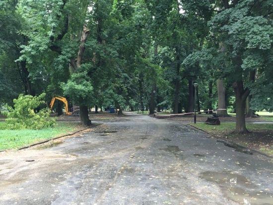 Ruszyła rewitalizacja parku przy ul. Dąbrowskiego [FOTO] - Aktualności Rzeszów - zdj. 2
